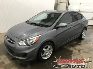 Used 2016 Hyundai Accent GL Mags Sièges Chauffants Bluetooth **JAMAIS ACCIDENTE** for sale in Shawinigan, QC