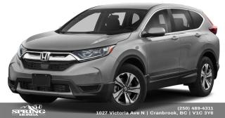 New 2019 Honda CR-V LX for sale in Cranbrook, BC