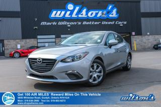 Used 2015 Mazda MAZDA3 GX - 6 Speed, Bluetooth, Cruise Control, Power Package and more! for sale in Guelph, ON