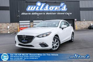 Used 2015 Mazda MAZDA3 GX -  Bluetooth, A/C, Push Start, Keyless Entry, Power Package and more! for sale in Guelph, ON