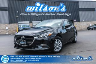 Used 2017 Mazda MAZDA3 GS - Bluetooth, Rear Camera, Blind Spot Monitor, Heated Steering & Seats Plus More! for sale in Guelph, ON
