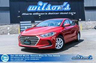Used 2017 Hyundai Elantra LE - Low KMs! Bluetooth, Heated Seats, Air Conditioning, Power Package and more! for sale in Guelph, ON