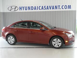 Used 2012 Chevrolet Cruze Berline LT  4 portes avec 1SA for sale in St-Hyacinthe, QC