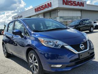 Used 2017 Nissan Versa Hatchback NOTE SL w/NAV,heated seats,rear cam,sxm radio for sale in Cambridge, ON