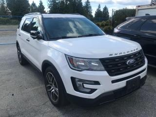 Used 2017 Ford Explorer Sport LOW KMS, ACCIDENT FREE, BC LOCAL, DEALER MAINTAINED for sale in Surrey, BC