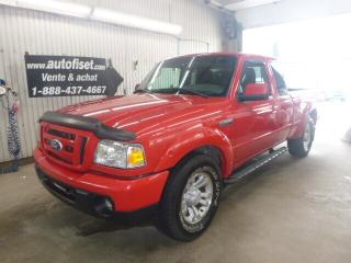 Used 2010 Ford Ranger Sport AWD for sale in St-Raymond, QC
