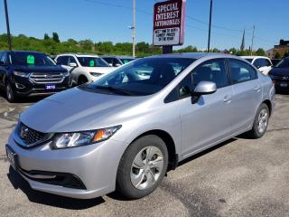 Used 2013 Honda Civic LX BLUE TOOTH !!  CRUISE !!  A/C !! for sale in Cambridge, ON