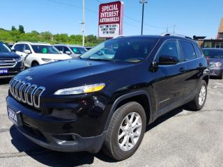 Used 2014 Jeep Cherokee North BLUE TOOTH !!  REMOTE START !!  4X4 !! for sale in Cambridge, ON