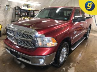 Used 2014 RAM 1500 SLT * 4WD * Quad cab * 3.6L V6 * NAV-Ready! ParkView(TM) Rear Back-up Camera * Class IV Receiver Hitch * Trailer Brake Control * Spray in Bedliner * P for sale in Cambridge, ON