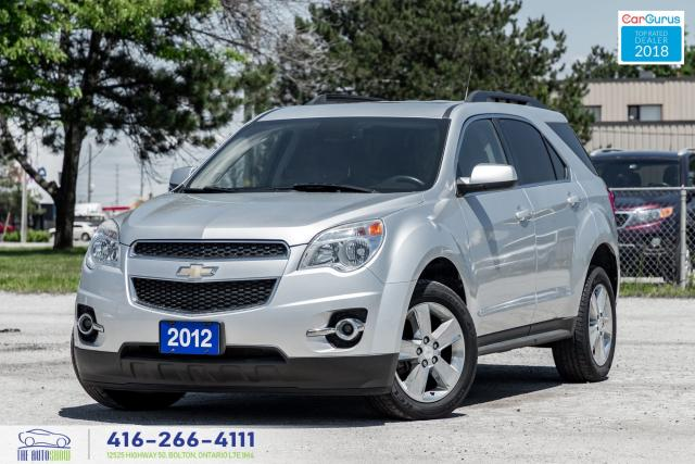 2012 Chevrolet Equinox Leather/Roof RCam CleanCarfax CertifiedGMServiced