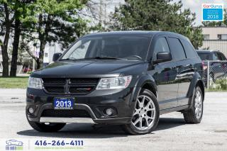 Used 2013 Dodge Journey R/TRally AWD 7SEAT LEATHER/ROOF NAVGPS CleanCarfax for sale in Bolton, ON