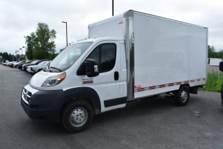 Used 2018 RAM ProMaster Boite Transit fermée 14 pieds+Bluetooth for sale in Sherbrooke, QC
