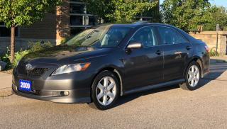Used 2009 Toyota Camry SE - Leather- Sunroof -Heated Seats- NO ACCIDENTS for sale in Brampton, ON