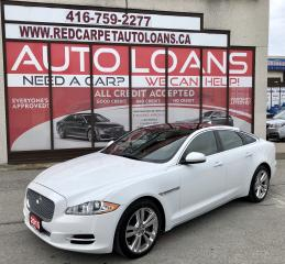 Used 2015 Jaguar XJ 3.0L Premium Luxury XJ - ALL CREDIT APPROVED for sale in Scarborough, ON
