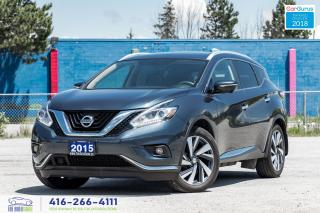Used 2015 Nissan Murano Platinum 1owner CleanCarfax CertifiedServicedClean for sale in Bolton, ON