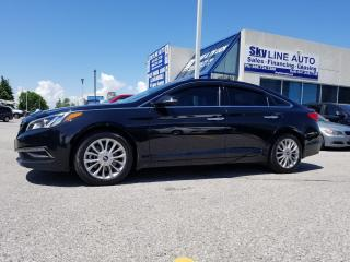 Used 2015 Hyundai Sonata Sport Tech NAVI|REMOTE STARTER|1 OWNER|ACCIDENT FREE|PANOROOF|COOL &HEATED SEATS|BACKUP CAMERA|CERTIFIED|ALLOYS for sale in Concord, ON