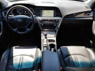 Used 2015 Hyundai Sonata Sport Tech NAVI|PANOROOF|LEATHER|BLIND SPOT|CAMERA|ADAPTIVE CRUISE|1 OWNER for sale in Concord, ON
