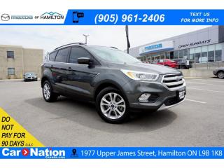 Used 2017 Ford Escape SE | NAV | SAT RADIO | REAR CAM | HEATED SEATS for sale in Hamilton, ON