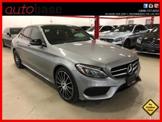 Used 2016 Mercedes-Benz C-Class C300 4MATIC NIGHT BURMESTER PREMIUM PLUS LED for sale in Vaughan, ON