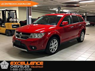 Used 2018 Dodge Journey GT AWD *7PLACES/CUIR/TOIT/NAV/CAMERA/DVD for sale in Vaudreuil-Dorion, QC
