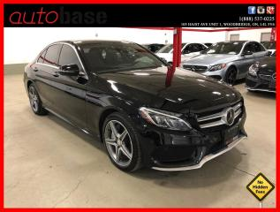 Used 2016 Mercedes-Benz C-Class C300 4MATIC HUD DISTRONIC PREMIUM PLUS SPORT LED for sale in Vaughan, ON