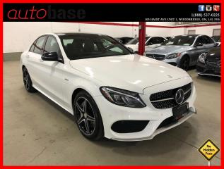 Used 2016 Mercedes-Benz C-Class C450 AMG 4MATIC HUD DISTRONIC AMG PERFORMANCE WHEEL for sale in Vaughan, ON
