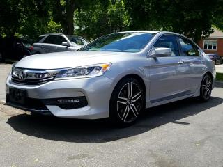 Used 2016 Honda Accord Sedan 4dr I4 CVT Sport for sale in Guelph, ON