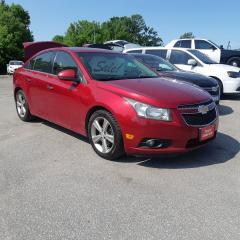 Used 2012 Chevrolet Cruze LTZ Turbo w/1SA for sale in Orillia, ON