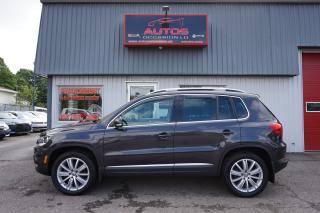 Used 2016 Volkswagen Tiguan Highline 4MOTION for sale in Lévis, QC