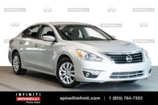 Used 2015 Nissan Altima S | BLUETOOTH | CRUISE | CAM RECUL | TRES PROPRE FAUT VOIR for sale in Montréal, QC