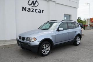 Used 2005 BMW X3 2.5i for sale in East Gwillimbury, ON