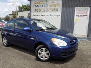 Used 2007 Hyundai Accent ***GS,AUTOMATIQUE,BAS KILOMETRAGE*** for sale in Longueuil, QC