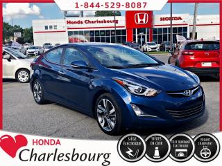 Used 2015 Hyundai Elantra LIMITED **TOIT OUVRANT+GPS+CUIR** for sale in Charlesbourg, QC