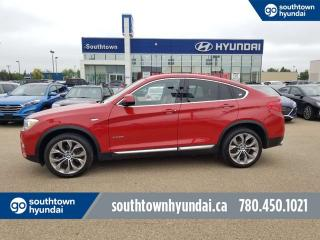 Used 2016 BMW X4 xDrive28i/AWD/LEATHER/HEATED SEATS/BACK UP CAMERA for sale in Edmonton, AB