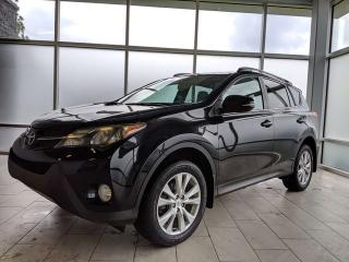 Used 2013 Toyota RAV4 LIMITED/ALL WHEEL DRIVE/HEATED SEATS/BACK UP CAMERA for sale in Edmonton, AB