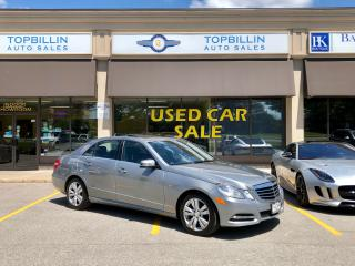 Used 2012 Mercedes-Benz E-Class 4Matic, Navi, Blind Spot, B Cam for sale in Vaughan, ON