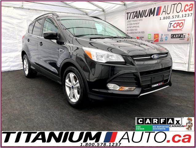 2015 Ford Escape SE 2.0+Camera+Pano Roof+Leather+Power Lift Gate+XM