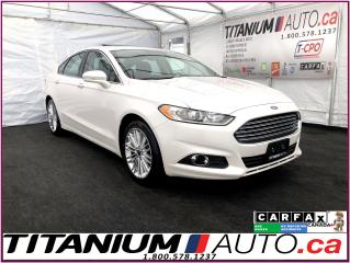Used 2016 Ford Fusion SE 2.0+GPS+Camera+Sunroof+Leather Heated Seats+XM+ for sale in London, ON