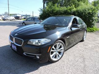 Used 2015 BMW 5 Series 535i xDrive PREMIUM PACKAGE for sale in BRAMPTON, ON
