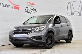 Used 2016 Honda CR-V LX 2WD for sale in Blainville, QC