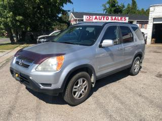 Used 2004 Honda CR-V EX-L/Automatic/AWD/Leather/Roof/AS IS SPECIAL for sale in Scarborough, ON