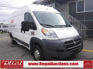 Used 2015 RAM PROMASTER 3500 HIGH ROOF 2D CARGO VAN 159 WB for sale in Calgary, AB