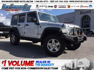 Used 2010 Jeep Wrangler Unlimited RUBICON | AUTO | NAV | RMT STRT | AS IS!! for sale in Milton, ON