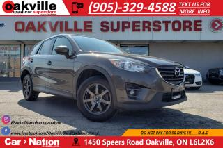 Used 2016 Mazda CX-5 GS | NAV | SUNROOF | BLINDSPOT | B/U CAM for sale in Oakville, ON