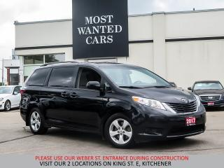 Used 2017 Toyota Sienna LE 8-Passenger | CAMERA | POWER SLIDING DOORS for sale in Kitchener, ON