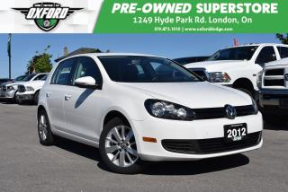Used 2012 Volkswagen Golf One Owner, Very Clean, Trailer Hitch, Winter Tires for sale in London, ON