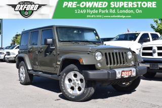 Used 2015 Jeep Wrangler Unlimited Sahara for sale in London, ON