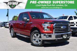 Used 2017 Ford F-150 Extended Cab, Bedliner, Trailer Hitch, UConnect/Bl for sale in London, ON