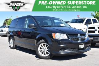 Used 2015 Dodge Grand Caravan SE/SXT - FWD, GPS, Rear A/C, Roof Rack for sale in London, ON