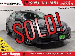 Used 2015 Acura TLX Tech| SUNROOF| NAVI| AWD| LOW KM'S| for sale in Burlington, ON